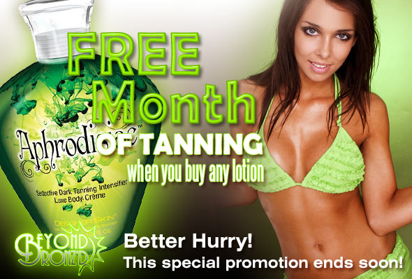 Free Month of Tanning